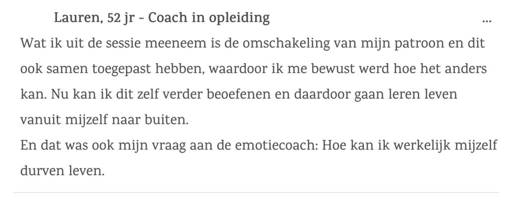 Ben je Coach in opleiding?
